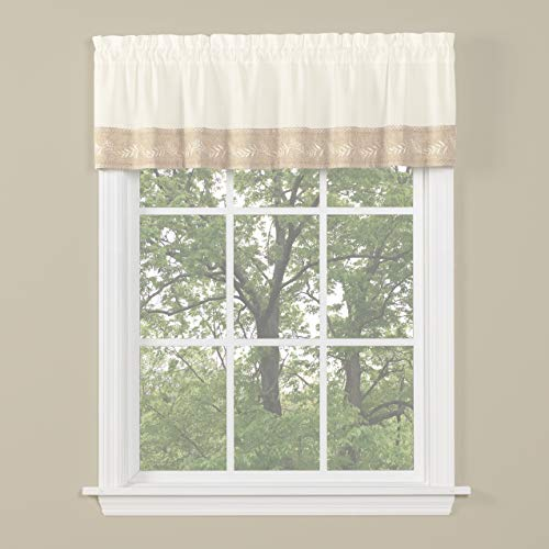 SKL Home by Saturday Knight Ltd. Timeless Valance, for sale  Delivered anywhere in USA
