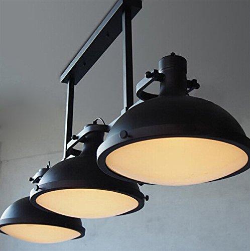 1 opinioni per FAYM-Americana rurale industriali ristoranti ferro battuto lampadari 3 black