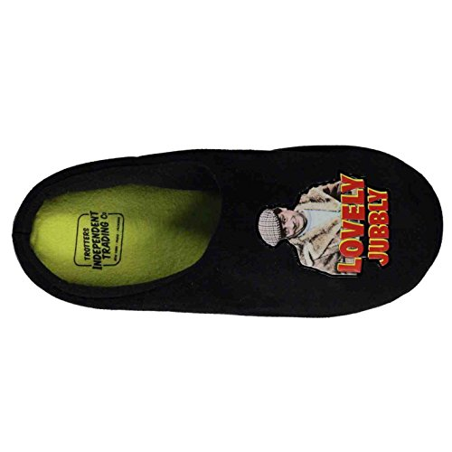 Only Fools and Horses , Chaussons pour homme noir Black/Del Boy