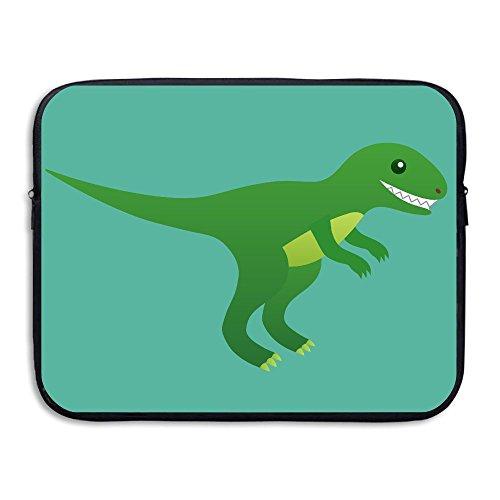 Computer Bag Laptop Case Slim Sleeve Cartoon Dinosaurs Waterproof 13-15In IPad Macbook ()