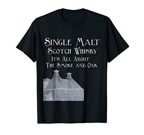 Single Malt Scotch Whiskey T-Shirt Gift For Men