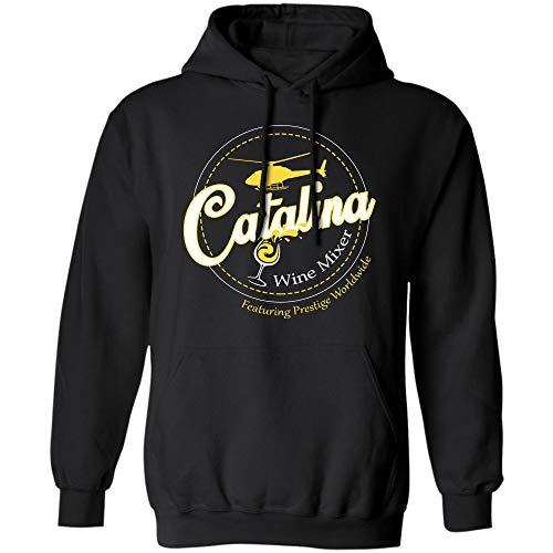 Catalina Wine Mixer Prestige Worldwide T Shirt (Hoodie;Black;5XL) -