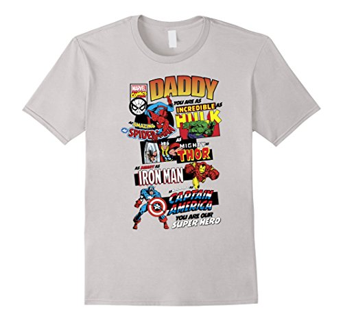 Marvel+Comics+Retro+Shirt Products : Marvel Avengers Father's Day Retro Comic Graphic T-Shirt