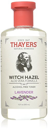 Thayers Rose Petal & Lavender Witch Hazel with Aloe Vera Alcohol-free 12 Ounce