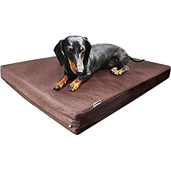Amazon Com Dogbed4less Durable Memory Foam Dog Bed With