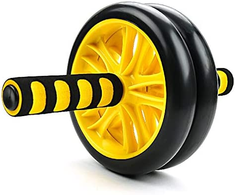 Core & Abdominal Trainers Abdominal Wheel Yellow Abdominal Wheel Huge Fitness Roller Mute AB Weight Loss Fitness Equipment For Home Gym Abdominal Trainer Ideal for beginners and experienced people wei 3