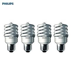 Philips T2 Spiral CFL Light Bulb: 6500K,...