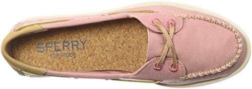o Boat Sperry A Shoe Canvas Women's 12 Venice Us Medium Rose qP1Zw1SBa