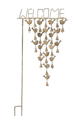 Benzara 24306 Metal Bird Garden Stake by Benzara