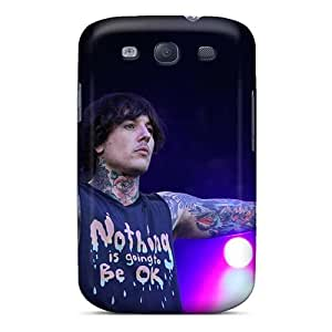 Samsung Galaxy S3 PrA14221KeHm Provide Private Custom Realistic Bring Me The Horizon Band Bmth Skin Best Hard Cell-phone Cases -MarieFrancePitre