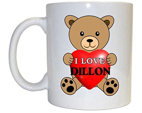 Dillon Mug - I Love Dillon Mug