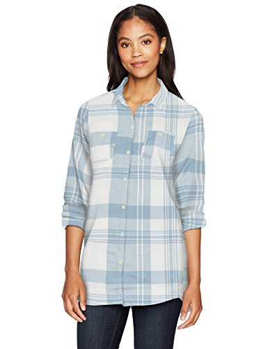 Woolrich Womens Pemberton Boyfriend Flannel Shirt