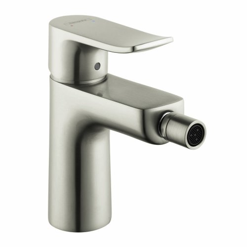 Hansgrohe 31280821 Metris Bidet Faucet with Drain Assembly, Brushed Nickel
