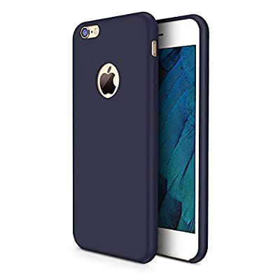 iPhone 6s Case, TORRAS [Love Series] Liquid Silicone Rubber iPhone 6 6S Inner Fiber Cushion Shockproof Case (4.7 inches)