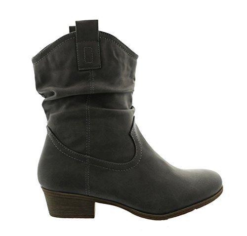King Sintético Gris De Shoes Material Para Botas Mujer Of rCWwXqn8xr
