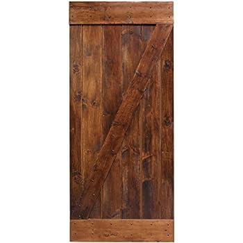 Amazon 6 panel door interior slab solid pine 30x80 home tms 36x84 dark coffee solid core plank knotty pine barn wood sliding interior door planetlyrics Choice Image
