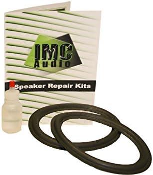 "6x9 Foam Speaker Surround Repair Kit with Clear Glue to Fix Speakers 6""x9"""