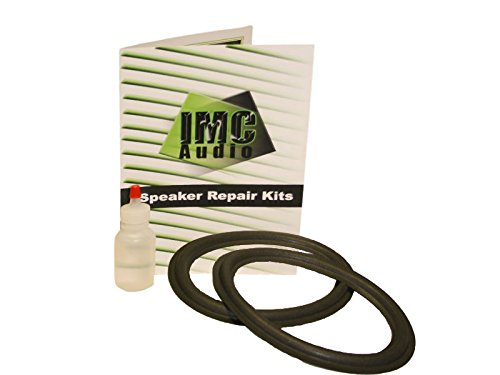 6x9 Foam Speaker Surround Repair Kit with Clear Glue To Fix Speakers 6