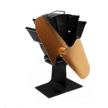 2 cuchillas de la estufa de calor Desarrollado ventilador silencioso Inicio calor del ventilador ultra silencioso Desarrollado Estufa Estufa de madera ...
