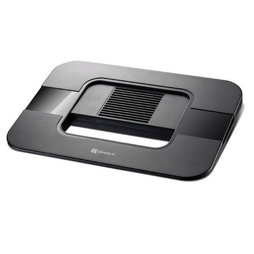 Cooler Master Choiix Air-Through スタッシュノートブック冷却パッド HDDとSSDドック C-HL04-KP (ブラック)   B002NU5UYG