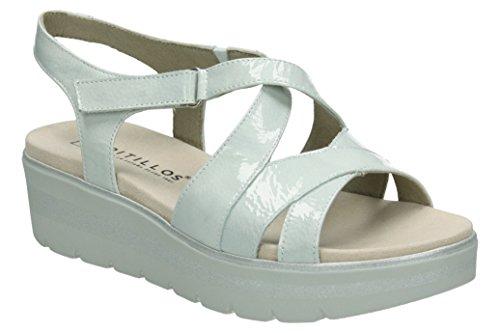 pitillos sandalia cruzada charol 40