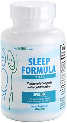 16 Natural Sleep Aids in 1. Adult Extra Strength for Fast deep Sleep. Melatonin Passion Flower, Valerian Root, GABA, Chamomile, Skull Cap. Sleep, Stay Asleep, Non drowsy Sleeping Pill