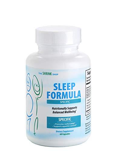 (16 Natural Sleep Aids in 1. Adult Extra Strength for Fast deep Sleep. Melatonin Passion Flower, Valerian Root, GABA, Chamomile, Skull Cap. Sleep, Stay Asleep, Non drowsy Sleeping Pill)