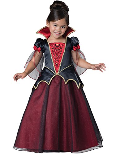 InCharacter Costumes Women's Vampiress Costume, Burgundy/Black, Medium (Girl Vampire Costume)