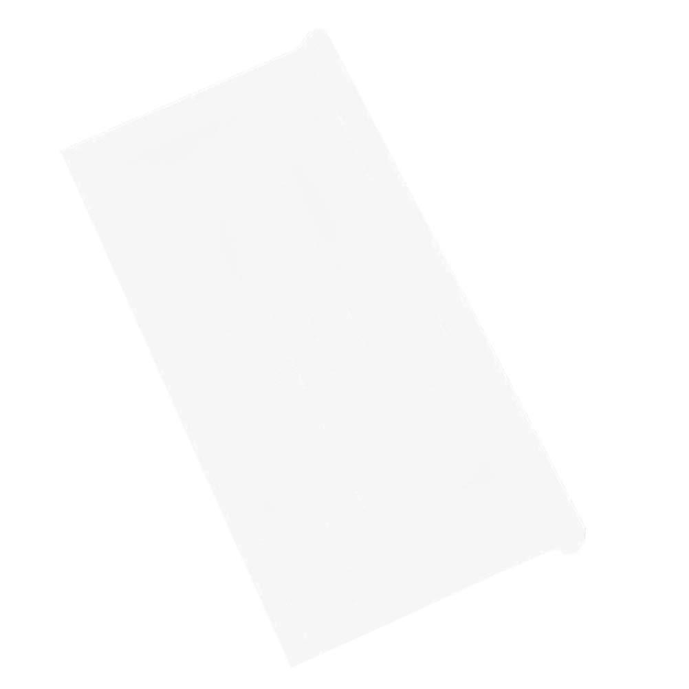 Vosarea Film de Verre Dépoli Fenêtre Intime Transparente de Style Aveugle Translucide 90 x 200cm