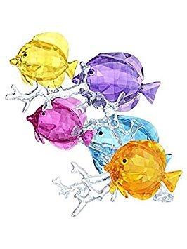 (Swarovski Rainbow Fish Family)