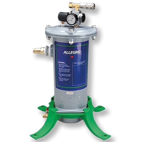 Allegro Industries 3000-01 Airline Filter, Regulator, 2-Outlets, Standard by Allegro Industries