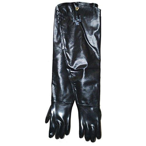 Gloves Ansell Cotton (Ansell 9-430/212471 Neoprene Black Shoulder Length Gloves - Pair)