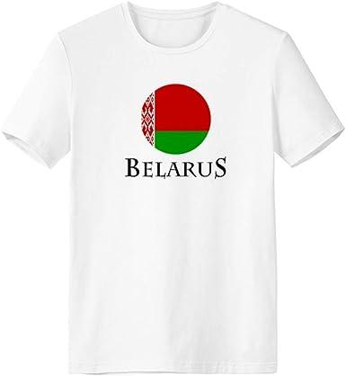 Belarus text V-Neck T-Shirt