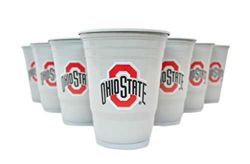 National Collegiate Athletic Association Fan Shop NCAA Beer Pong Set (Ohio State Buckeyes)