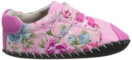 pedipedJake - Zapatos de Bebé niña Rosa - Pink (Pink Floral)