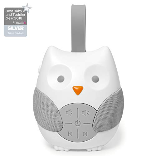 - Skip Hop Stroll & Go Portable Baby Soother and Sound Machine, Owl