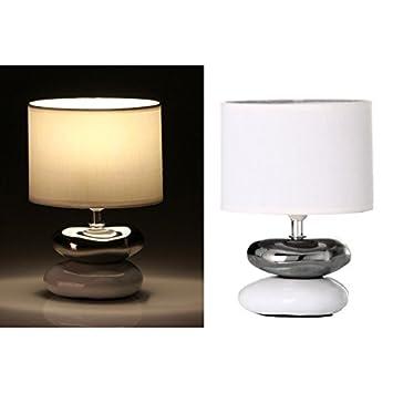Beau Dcasa Fantasy Lampe De Chevet Orientale En Cu0026eacute;ramique Blanche Pour  Chambre