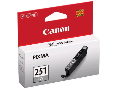 Canon CLI-251 GY Gray Ink primary