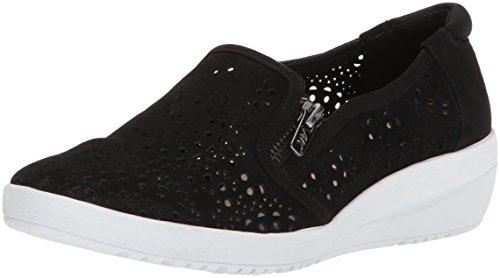 - Anne Klein AK Sport Women's Yvette Sneaker Oxford Flat, Black/Multi Nubuck, 7.5 M US