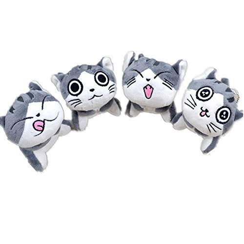 Kimkoala 4 Pcs Chi Cat Plush Toys, 4