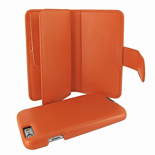 Piel Frama 717 Orange WalletMagnum Leather Case for Apple iPhone 6 Plus / 6S Plus by Piel Frama (Image #6)