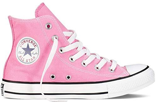 Converse Unisex Chuck Taylor Hi Top Pink Canvas Shoes 6.5 D(M) Men/8.5 B(M) Women