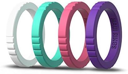 Nimamaipi Mens Silicone Resistance Ring Adjustable Band for Men Women KK35