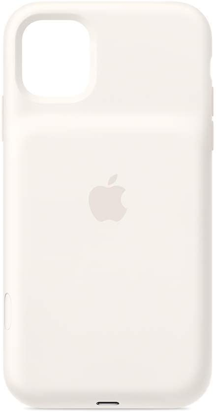 Apple Smart Battery Case with Wireless Charging (for iPhone 11) - White