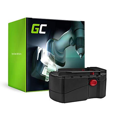 GC (3Ah 24V Ni-MH) B24, B 24, B 24/2 0, B 24/3 0 Bateria para Hilti SFL 24, TE 2-A, UH 240-A, WSC 55-A24, WSC 6 5, WSR 650-A, WSR650A, SW 650-A, WSW 650-A