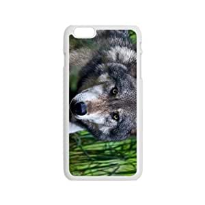 The Lonely Wolf Hight Quality Plastic Case for Iphone 6