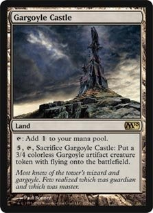 Magic: the Gathering - Gargoyle Castle - Magic 2010