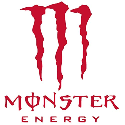 monster energy decal for car - 5