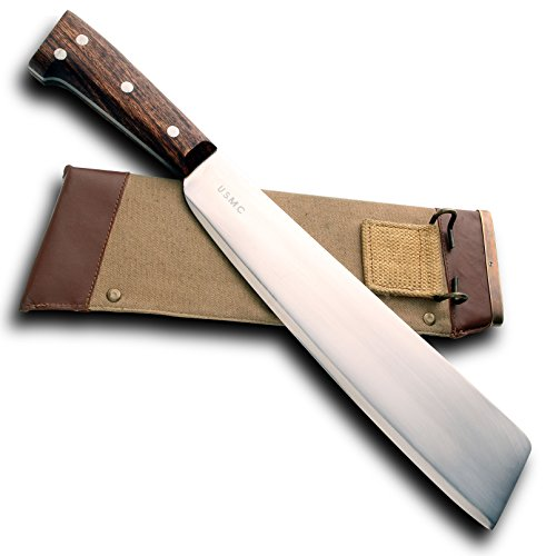WWII Replica Square Tip Machete Windlass (Wwii Replica Weapons)