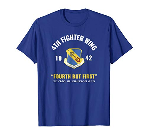 Air Force 4th Fighter Wing T Shirt (Air Force Wings T-shirt)
